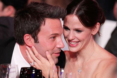 Now here's a loving couple who we didn't really expect to make it work. After all, young Hollywood.... But Jen and Ben are a match made in heaven, and appear to live a relatively normal family life. They have two daughters and are expecting a third!