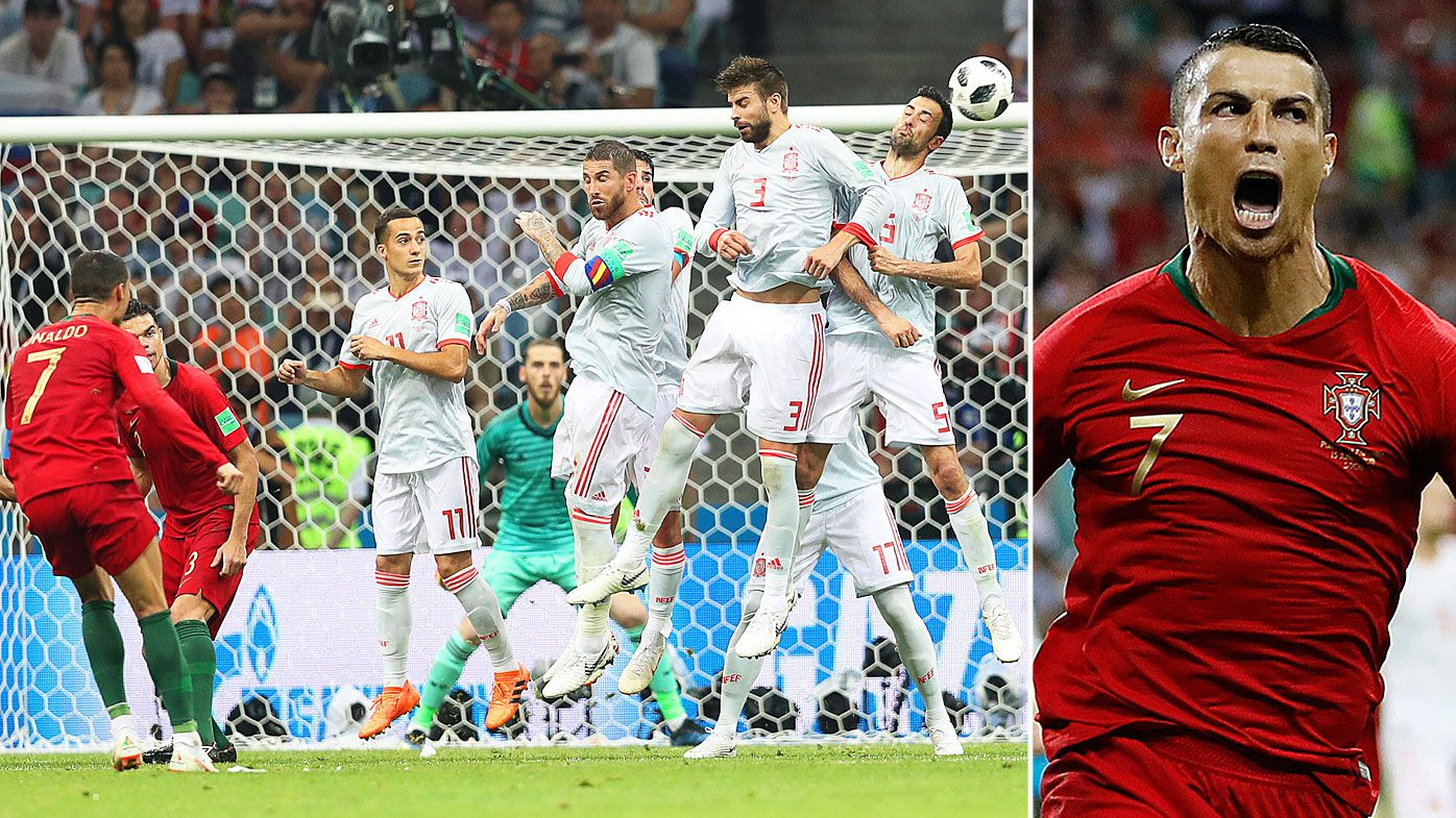 World Cup 2018 Day 2 Wrap: Ronaldo scores hat-trick for Portugal, heartbreaking own-goal stuns Morocco