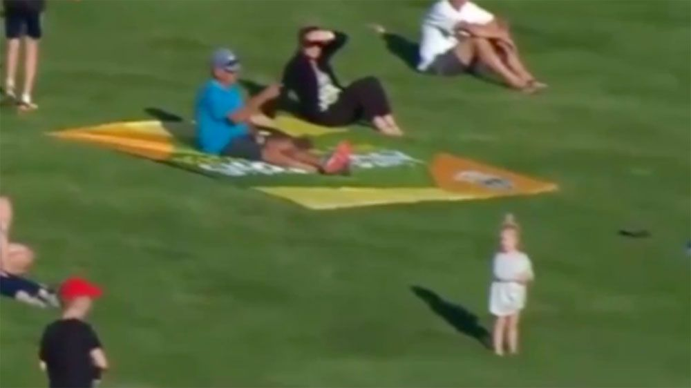 Jack Wildermuth six nearly hits young girl during Queensland Bulls win over Tasmania at JLT Cup