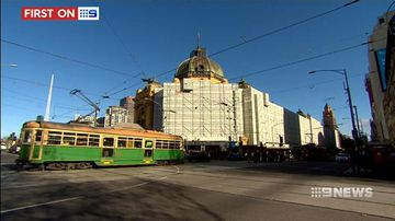 VIDEO: Exclusive look behind the scaffolding as Flinders Street station gets a facelift