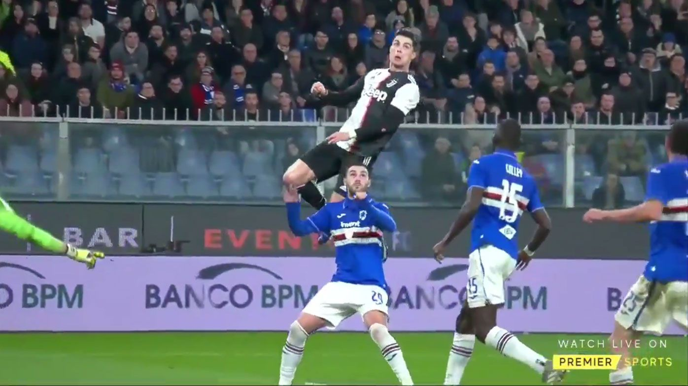Cristiano Ronaldo 'levitates' for 'ridiculous' header, sends Twitter into meltdown