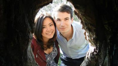 Elaine Teoh and her long-time boyfriend Emiel Mahler, who died on flight MH17. Picture: Supplied