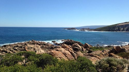 Search underway for missing cliff diver off south-west Western Australian coast