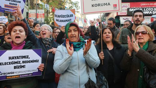 Thousands rally against Turkey's new child sex conviction bill