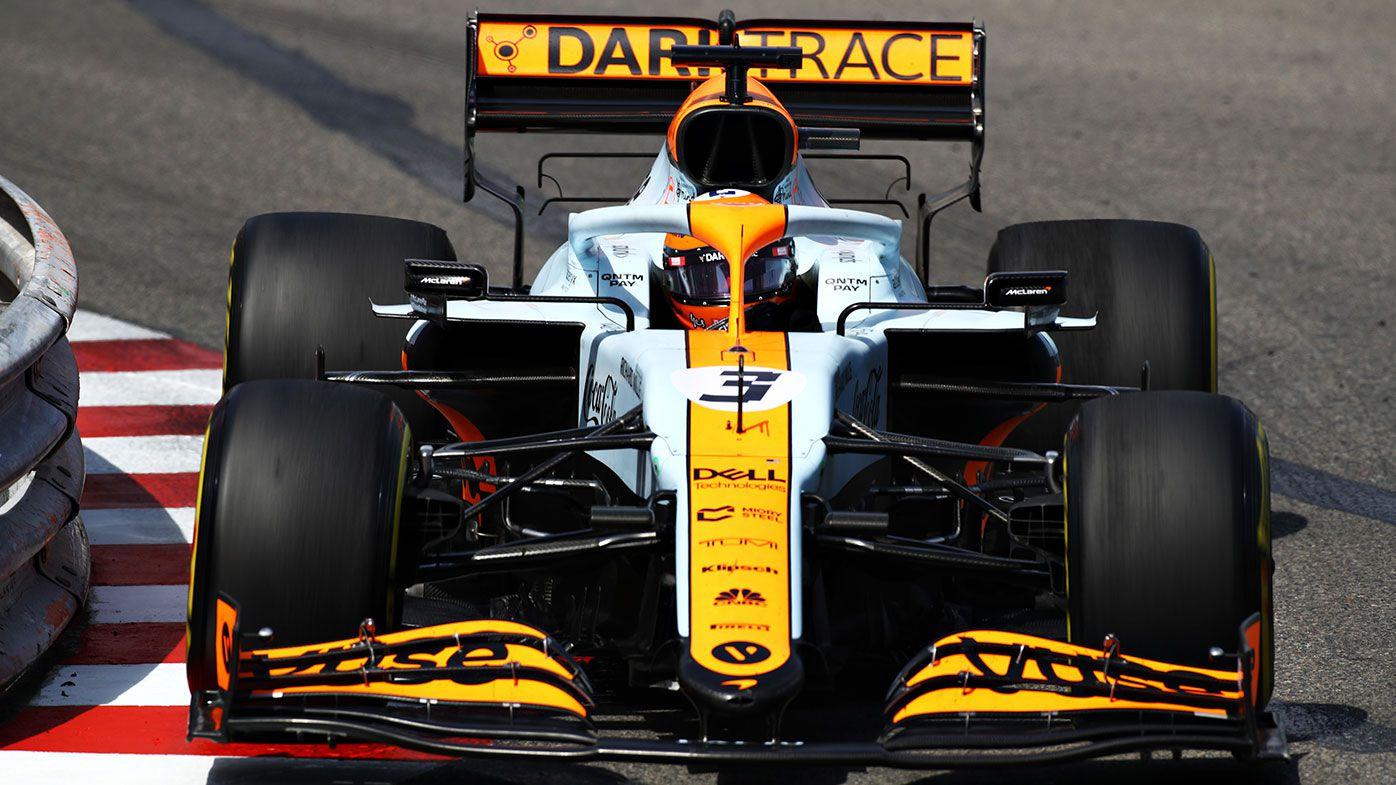 Daniel Ricciardo on the way to 12th place at the Monaco Grand Prix.