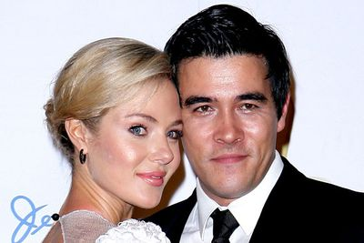 <B>Where they met:</B> <i>Packed to the Rafters</i>. She played sassy sister Rachel Rafter, and he played good-guy electrician Jake Barton. The two characters dated, but their onscreen love eventually fizzled when Jessica left the show to work in the US.<br/><br/><B>Did love blossom or bomb?</B> Blossomed. Things didn't work out for their characters, but Jessica and James got engaged in October 2011 and announced they were expecting their first child together in November 2011. Aww!