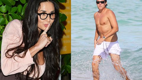 Demi Moore 'dumped' by toyboy, daughters 'mortified' by her wild partying