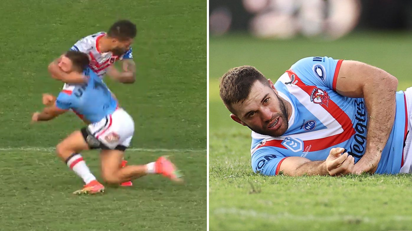 NRL head of football Graham Annesley says he would have sent off Jordan Pereira for head-high shot on James Tedesco