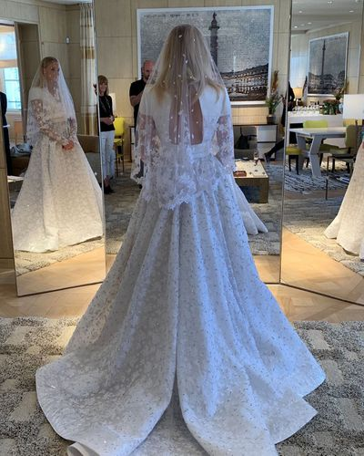 b548d2648c A closer look at Sophie Turner's epic custom wedding gown