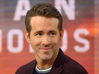 Ryan Reynolds, US Today Show, interview, on set