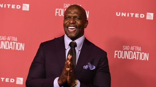 Terry Crews arrives at the 2017 Patron of the Artists Awards at the Wallis Annenberg Center for the Performing Arts in Beverly Hills. (AAP)