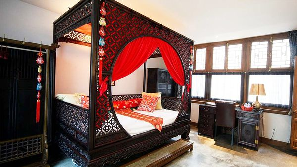 President suite at Shichahai Sandalwood Boutique Hotel (supplied)