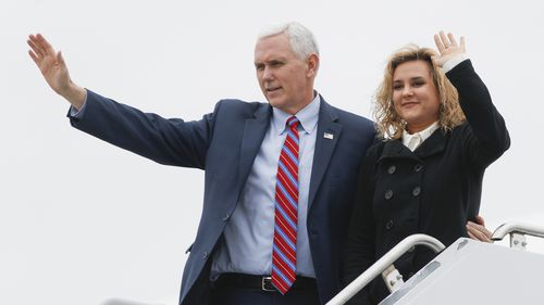 US Vice President Mike Pence to touch down in Sydney next weekend