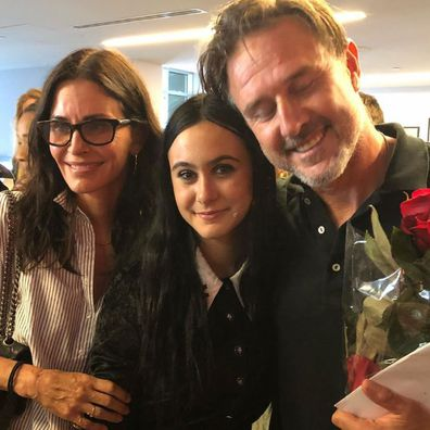 Courteney Cox, David Arquette and Coco Arquette