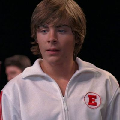 Zac Efron as Troy Bolton: Then