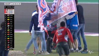 Dovizioso wins it at the death in Qatar MotoGP opener