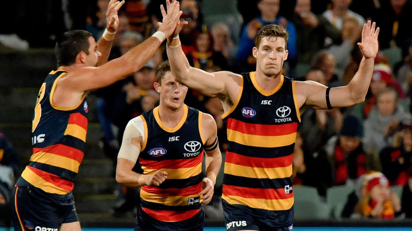 Adelaide Crows coach denies AFL rift with Josh Jenkins