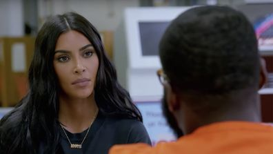 Kim Kardashian West appears in The Justice Project