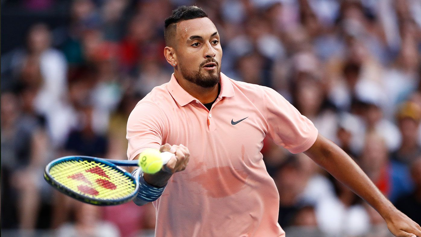 Lleyton Hewitt wants Nick Kyrgios to be physically and mentally ready before he competes