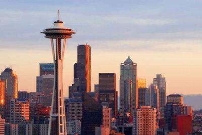 The Space Needle in Seattle, Washington