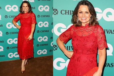 <i>Today</i>'s Lisa Wilkinson is red-hot!