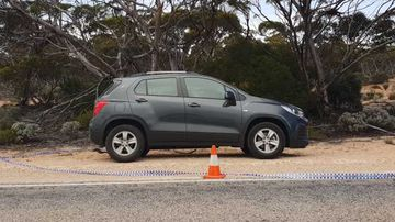 Blood on car leads to hitchhiker being charged over 'outback murder'