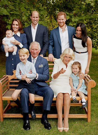 Royal mums: Camilla, Duchess of Cornwall