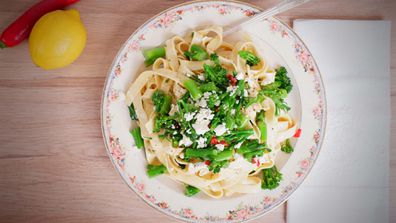 The easiest, pretties and freshest pasta