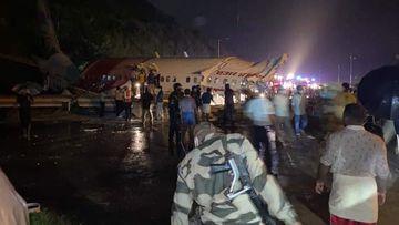 Air India Express plane crash Calicut International Airport Kerala