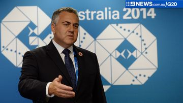 Treasurer Joe Hockey is preparing for the arrival of world economic leaders. (AAP)