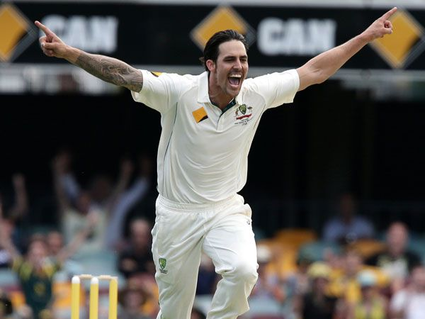 Mitchell Johnson. (AAP)