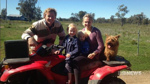 The Scudamore family is looking forward to getting Rusty back. (9NEWS)