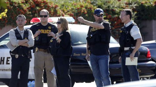 Suspect arrested in California after police officers killed, others wounded