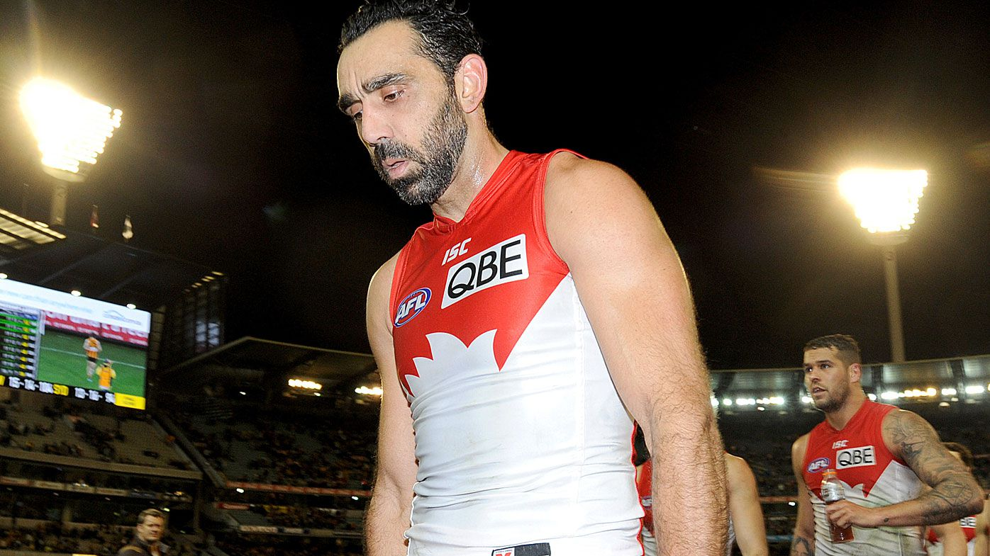 Goodes was a victim of repeated abuse in the last two seasons of his AFL career
