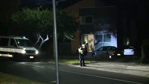 The attack happened after the father and son confronted two men attempting to break into their car. (9NEWS)
