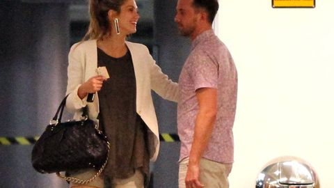 Busted: Delta Goodrem and Darren McMullen's late night hook-up