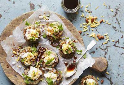 "<a href=""http://kitchen.nine.com.au/2016/05/05/10/04/anjum-anands-streetside-potato-cakes"" target=""_top"">Anjum Anand's street-side potato cakes</a><br /> <br /> <a href=""http://kitchen.nine.com.au/2016/11/17/11/12/street-food-inspired-recipes-from-around-the-world"" target=""_top"">More street food-inspired recipes</a>"