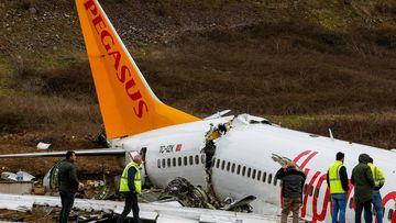 'Screams and shouts': Passengers recall horror Turkey plane crash off runway