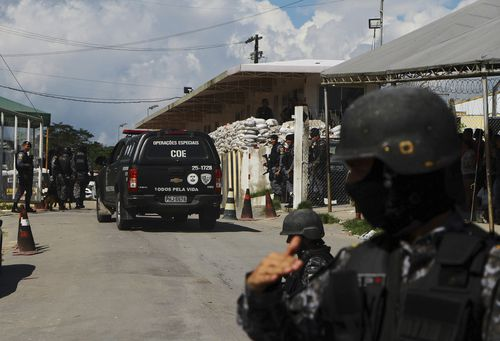 Forty-two inmates have died at three different prisons in Brazil's north, a day after 15 were killed during fights at a fourth prison in the same city.