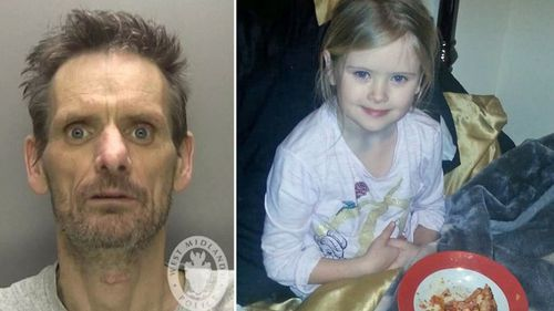 The photo William Billingham posted of his daughter Mylee hours before he stabbed her to death.