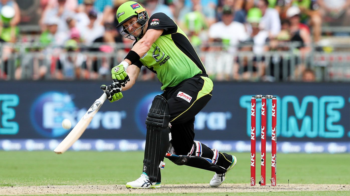 BBL: Shane Watson leads Sydney Thunder to victory over Adelaide Strikers
