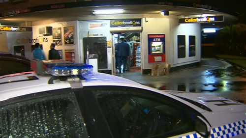 Woman charged after man stabbed in chest at Sydney bottle shop