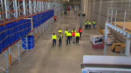 Today Drakes opened a new multi-million dollar distribution centre in Adelaide's north, creating 150 jobs, while also promising to deliver big savings for shoppers.