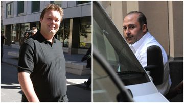 Tony Mokbel and Carl Williams, two major figures in Melbourne's gangland past.
