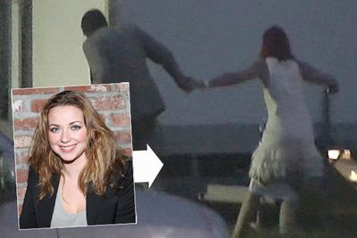 "UK singer Charlotte Church was caught with her knickers down running from behind a van at a charity polo event, but despite widespread reports that she was getting hot and heavy with her boyfriend, the tipsy mum of two insisted she was just ""desperate for a wee"" and not having sex!"