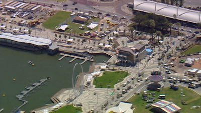 Perth is preparing for the opening of Elizabeth Quay after construction began almost four years ago. Click through the gallery to see how the project developed and what it is expected to look like. (9NEWS)