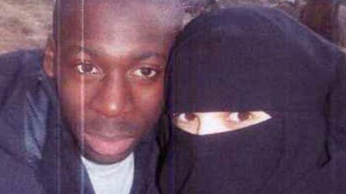 Terrorist Amedy Coulibaly with wife Hayat Boumeddiene.