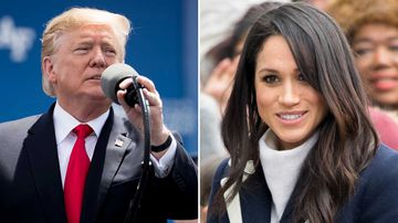 Donald Trump has branded Meghan Markle 'nasty' for comments she made several years ago about him.