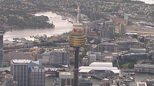 Sydney Tower has reopened following a woman's tragic death yesterday.