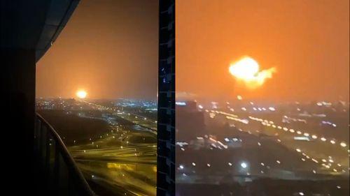Jebel Ali port fire Dubai